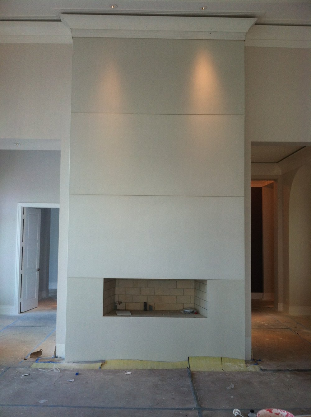 Fireplace Wall Panels