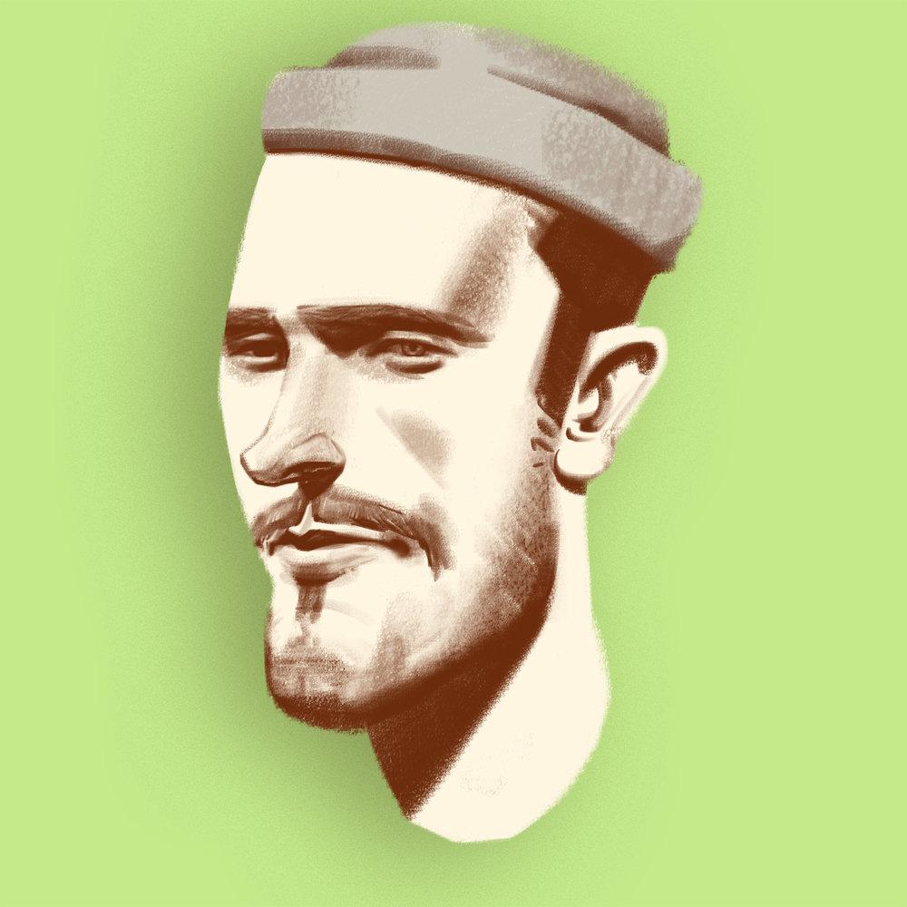 """Taco Hammacher Taco Hammacher (1990) ist geboren und aufgewachsen in der Bieler Umgebung. Nach der abgeschlossenen Grundschule absolvierte er ein Vorkursjahr an der Schule für Gestaltung Biel. Danach begann er eine Lehre als Grafiker bei der Werbeagentur in flagranti bsw. Während dieser Zeit gewann er den """"SGD Award"""" in der Kategorie Lehrling und entwickelte eine Leidenschaft fürs Zeichnen. Diese förderte er während seines dreijährigen Kunststudiums an der """"Russian Academy of Art"""" in Florenz. Einige seiner Arbeiten wurden bereits in der Schweiz und Italien ausgestellt. Das """"Palet"""" Magazin aus Holland berichtete über ihn und einige seiner Werke. 2016 war er Teil vom """"Tschuttiheftli""""-Team und illustrierte die russische Fussballnationalmannschaft."""