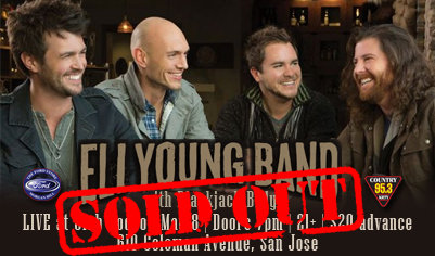 Eli Young Band at Rodeo Club