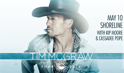 Tim McGraw at Shoreline