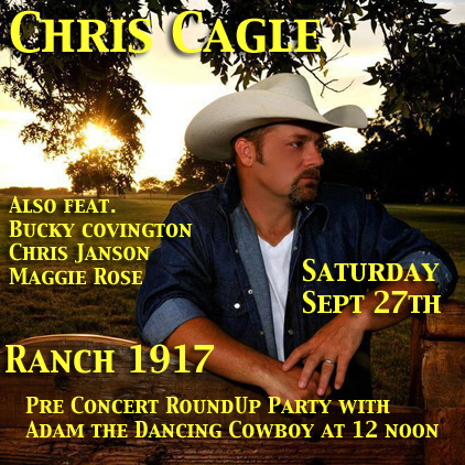 Chris Cagle at Ranch 1917