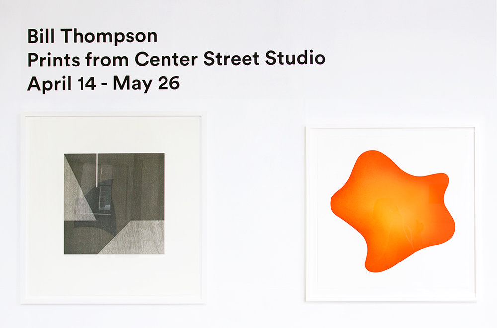 A pair of prints from our recent showcase of artist  Bill Thompson  and Master printer  James Stroud.