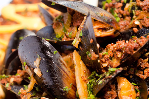 The Parish P.E.I. Mussels for seafood lovers!
