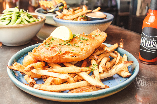 World's Crispiest Fish and Chips