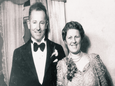 My grandparents Claude Vivian Osgood and Cecilia Evelyn Mary Osgood