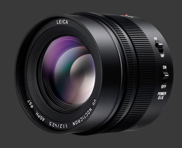 Panasonic Leica 42.5mm f/1.2 DG Nocticron lens