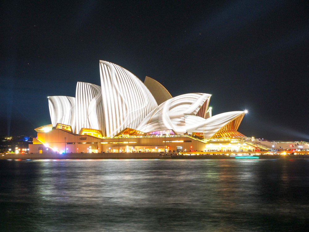 Sydney Opera House. Vivid Sydney