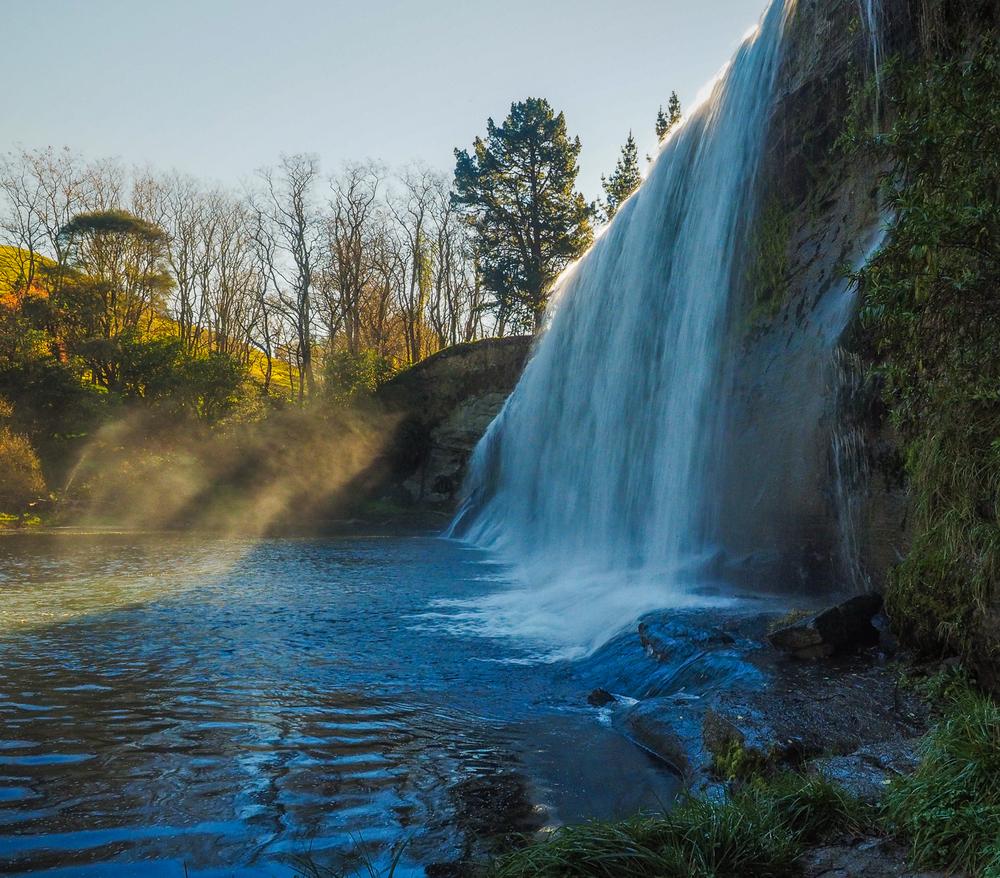 Rere Falls, Gisborne, NZ. 1/20 sec, f/11, ISO 800