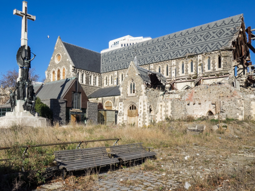 ChristChurch Cathedral, Christchurch, NZ. 16 August 2016