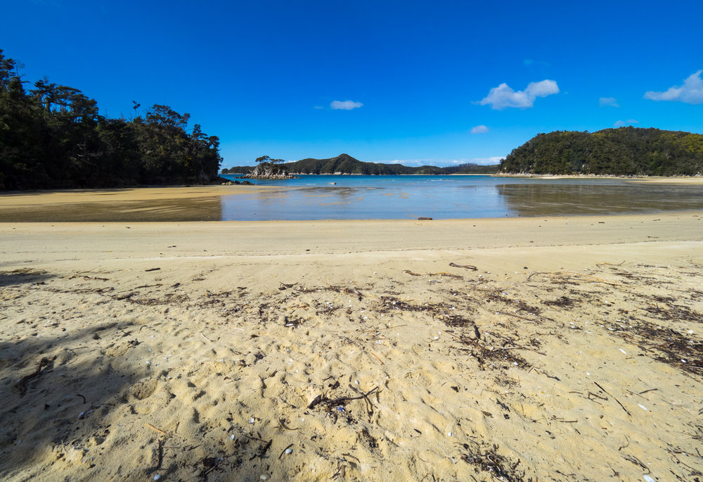 Torrent Bay, Abel Tasman National Park, Nelson, NZ. 1/800sec, f/8, ISo 200