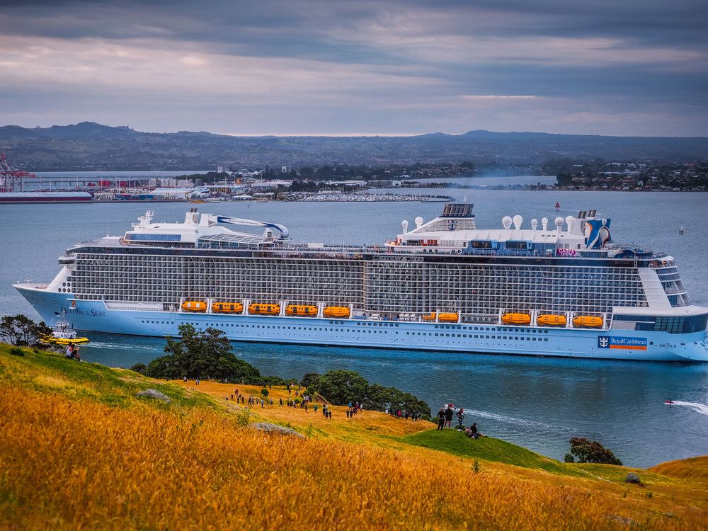 Ovation of the Seas, Tauranga, NZ. PC260055
