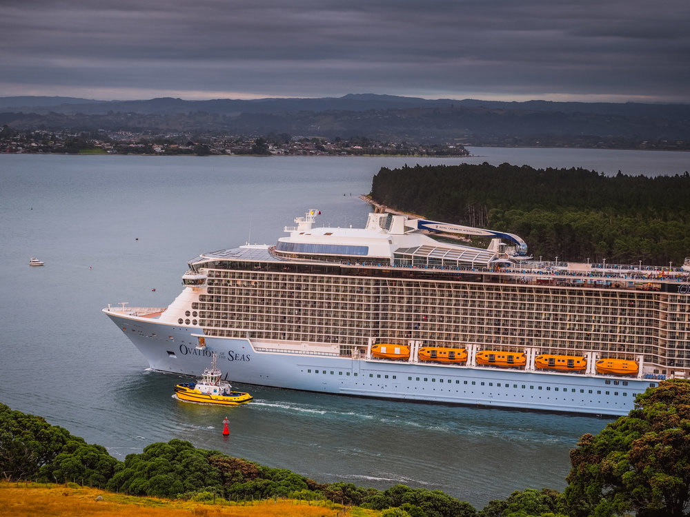 Ovation of the Seas, Tauranga, NZ. PC260044