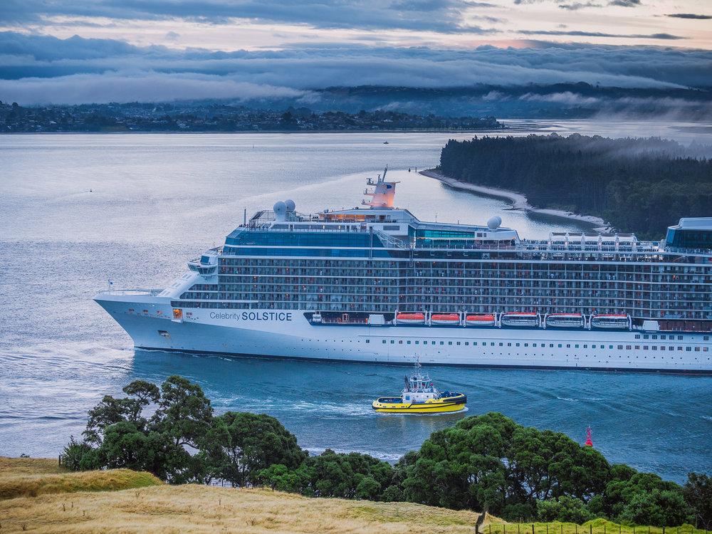 Celebrity Solstice. Tauranga, NZ. P2180772