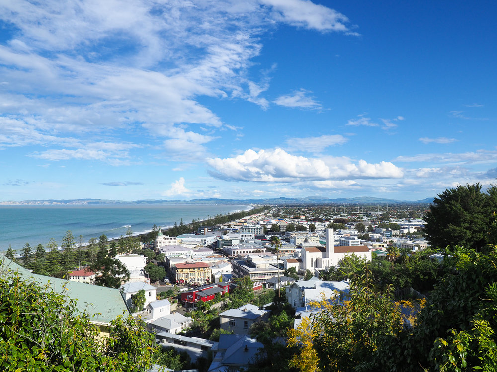 Napier from Bluff Hill
