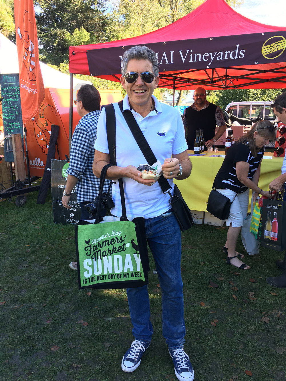 Where did you buy the bag? Hawkes Bay Farmers Market of course.