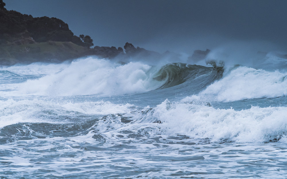 The wild & the furious. Mount Maunganui Beach. P5120106