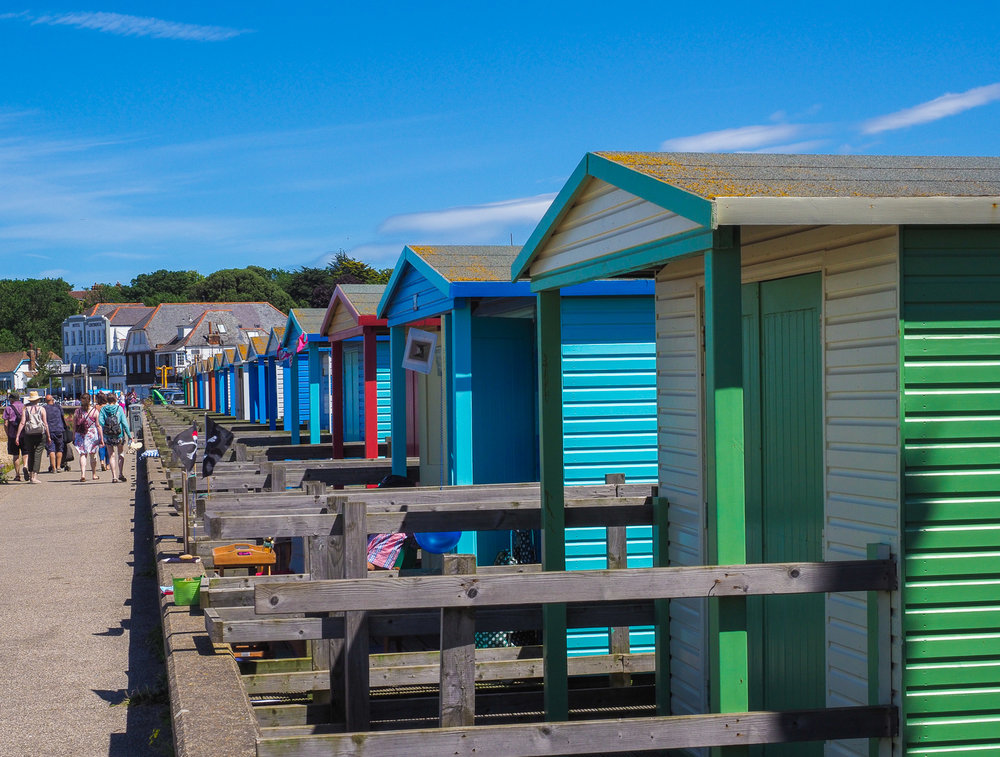 Beach huts, Whitstable.
