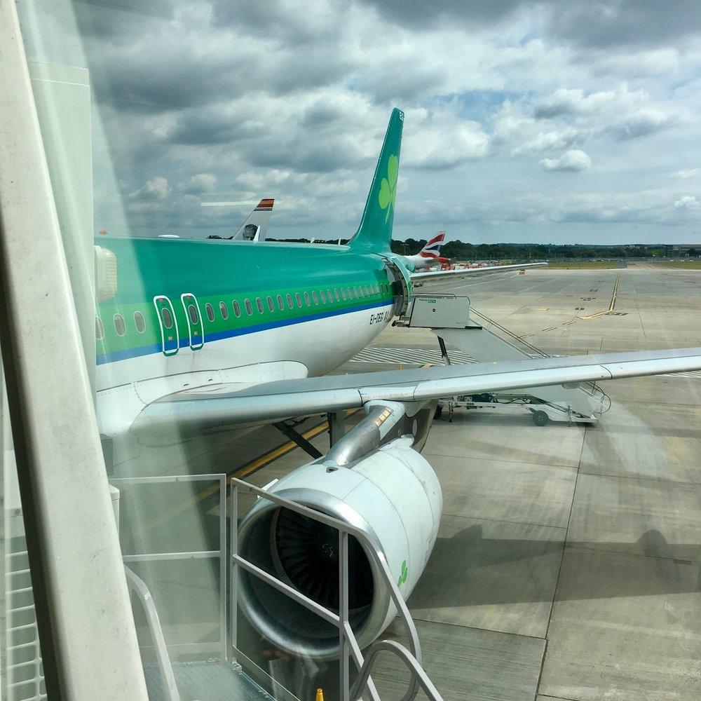 Dublin bound
