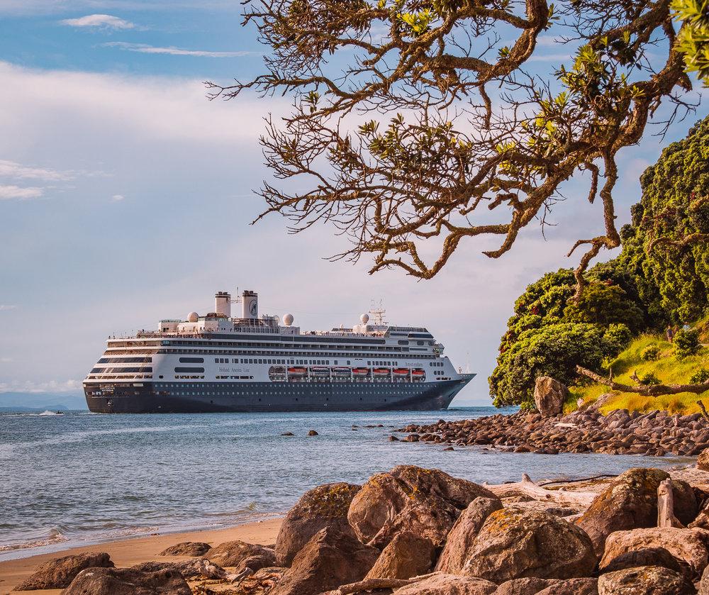 MS Amsterdam, Tauranga, NZ. PB302273