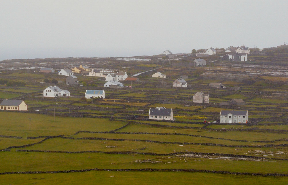 Remote desolate living in a tough environment on the Aran Islands off the west coast of Ireland.