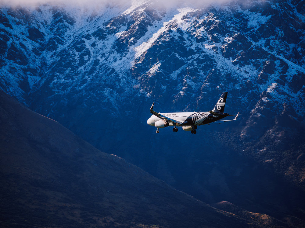 Approach to Queenstown Airport, NZ. P3234494