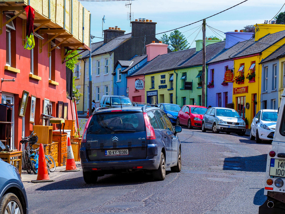 Colour my world. Bantry, West Cork, Ireland.