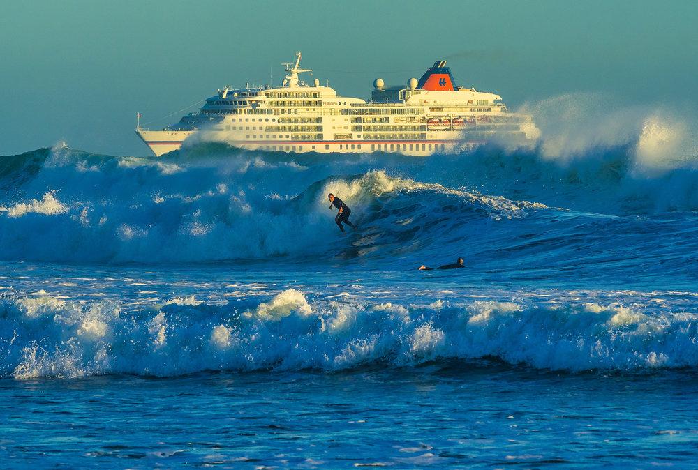Wild at Heart. Mount Maunganui Beach, NZ. P2120079-3