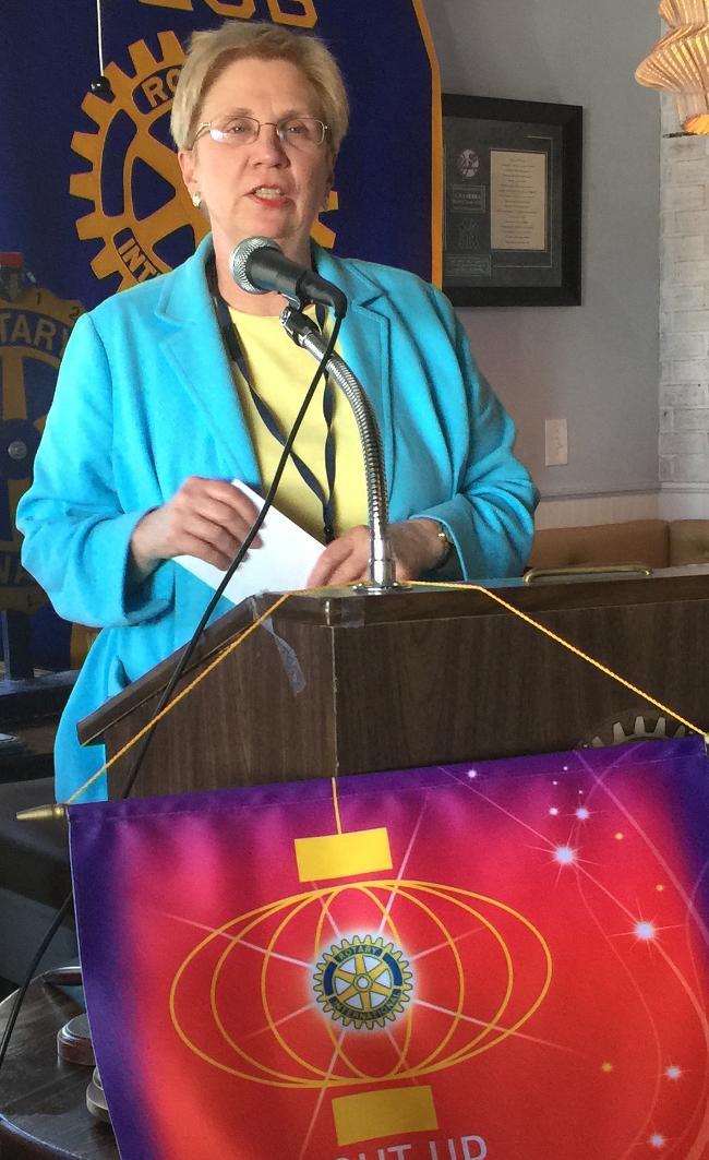 LucyBeckham accepts checks for Wando Dream Weavers and the Wando Beckham Scholars