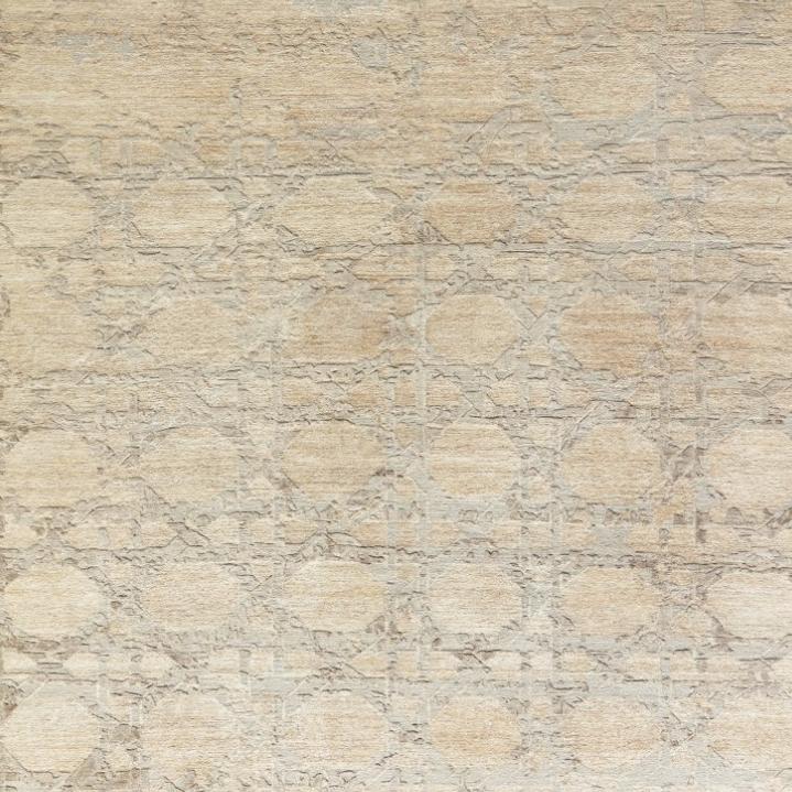 107215A  Hemp,Silk &Wool Hand-knotted in Nepal  8 X 10,9 X 12,10 X 14,12 X 15
