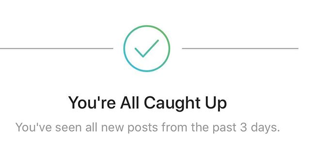 Wow...Instagram just told me to get a fucking life...I feel attacked and ashamed