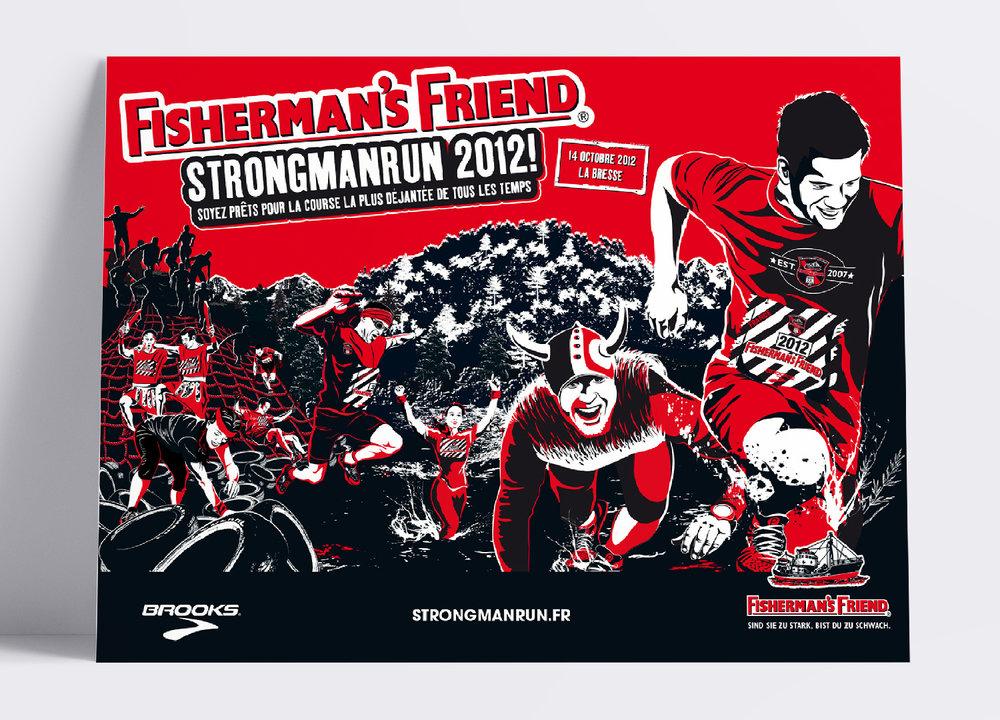 Fisherman´s Friend StrongmanRun! • Keyvisual