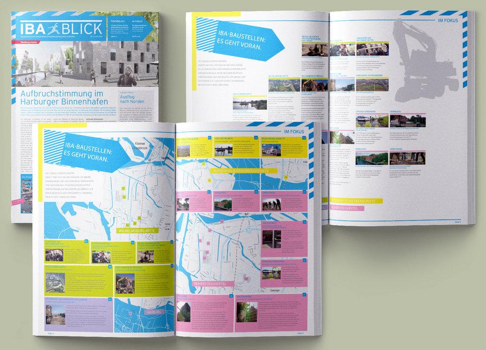 IBA Blick • Editorial Design