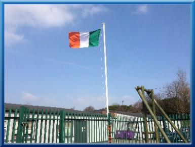 March 15th 2016 was Proclamation Day. Every primary school in Ireland celebrated the centenary of the 1916 Rising by raising the Tricolour that had been presented by the State to each school earlier in the year.  Click onto our    Proclamation Day    page to see how St.Killian's celebrated the day.
