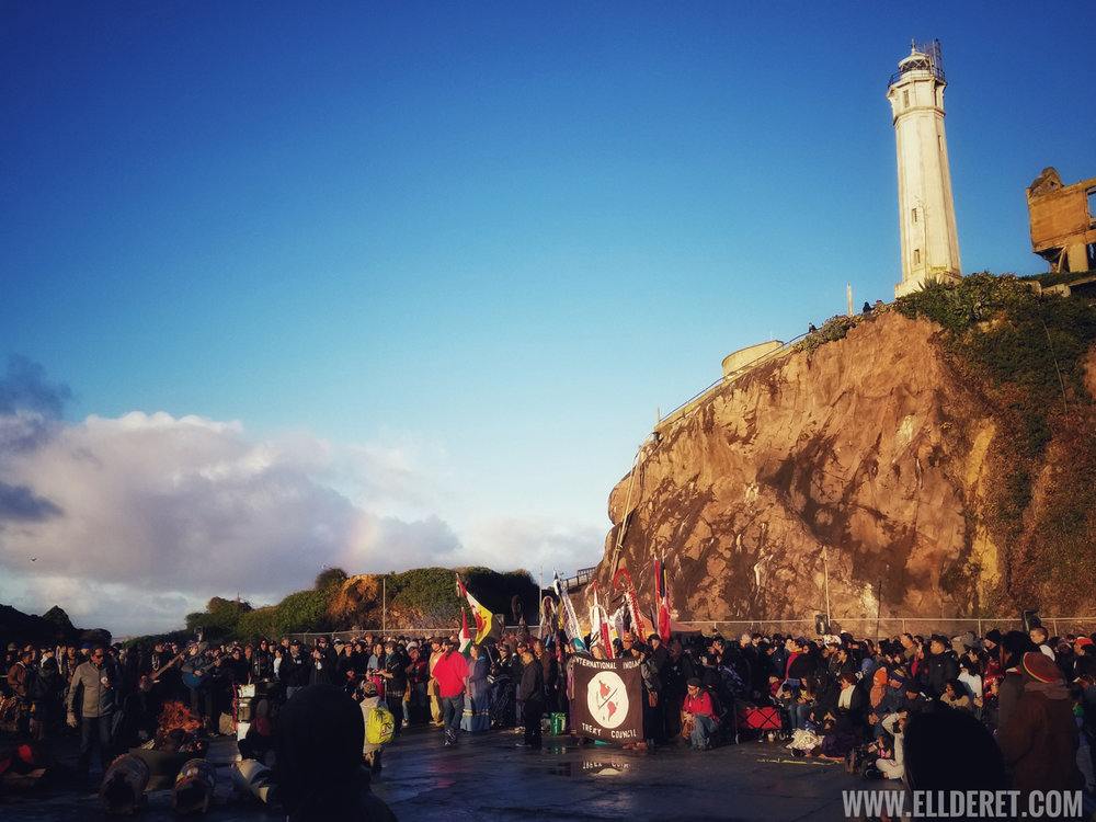 2018 Indigenous People's Sunrise Ceremony | Alcatraz Island
