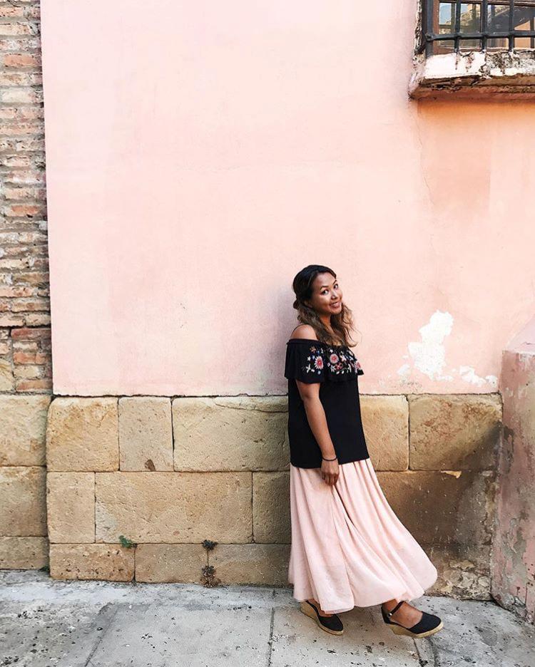 Malaga, Spain in October