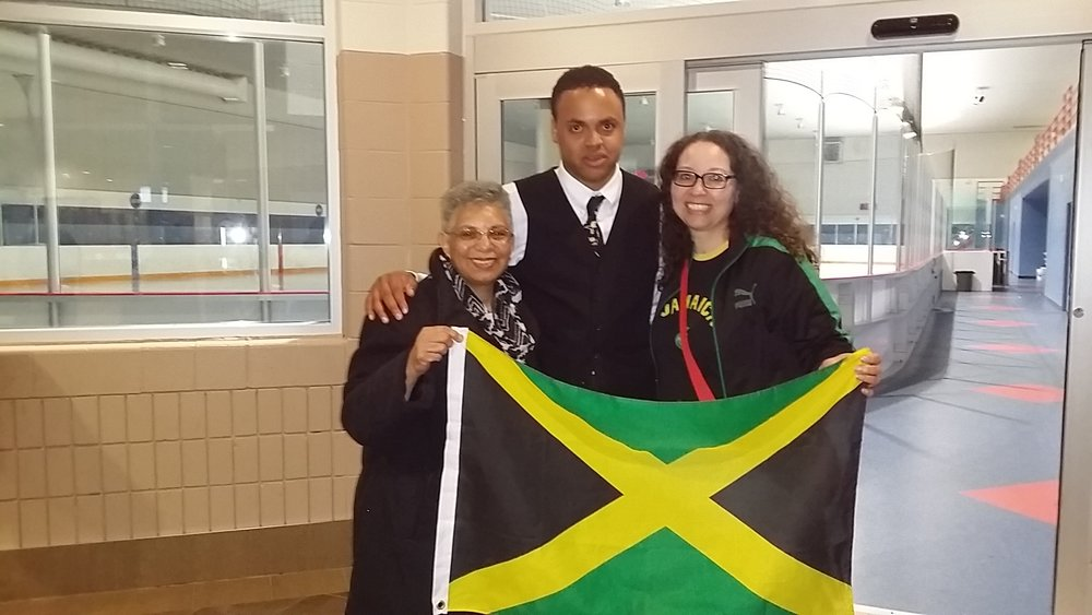 20150703 Holding the Jamaican Flag at Nottawasaga.jpg