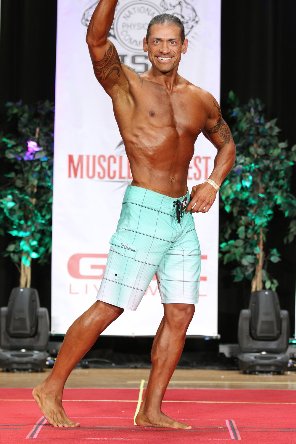 Competing Men's Physique - This was my second show in men's physique and personally achieve new levels of fitness as well as mental strength to accomplish my goals.