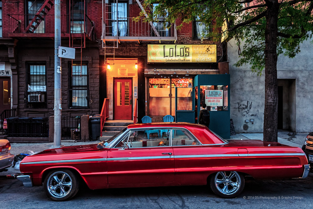 LOLO'S CAR  Harlem, NY / Assignment, 2016  ©  2017 OS Photography & Graphic Design