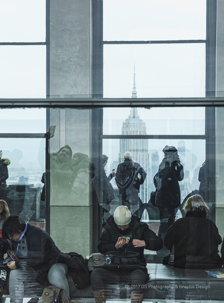TOP OF THE ROCK  New York, 2017  © 2017 OS Photography & Graphic Design