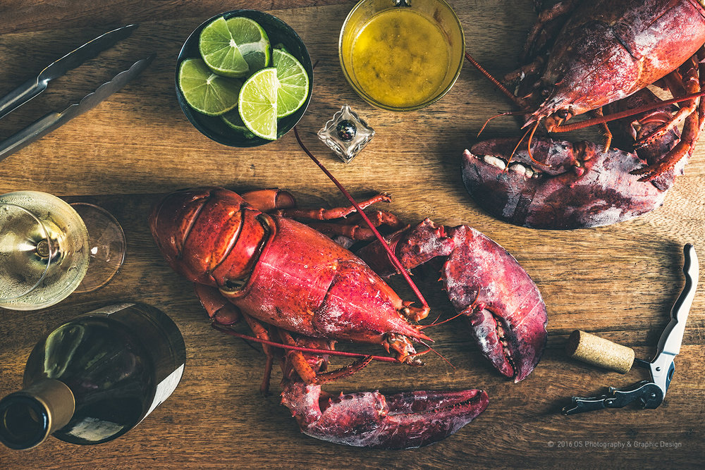 LOBSTER IS READY!  Studio Session, 2016  © 2016 OS Photography & Graphic Design