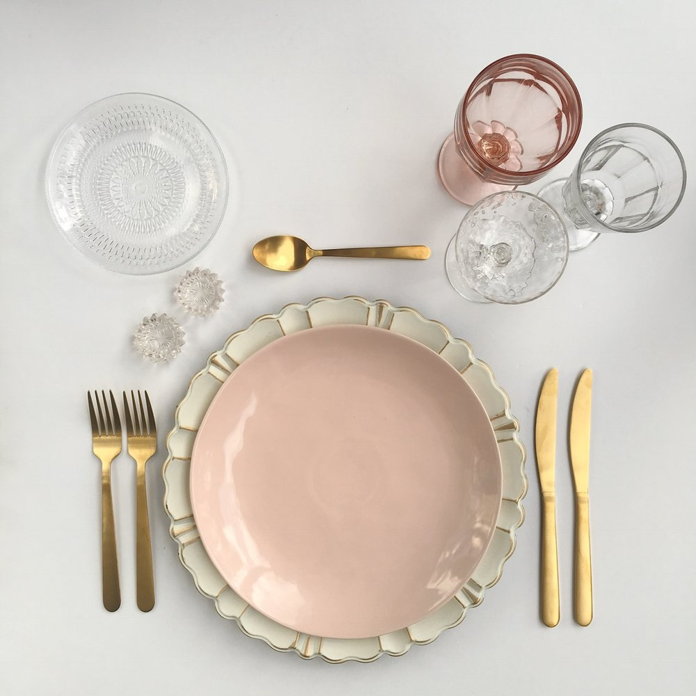 THE MIX DISH | PINK | WHITE
