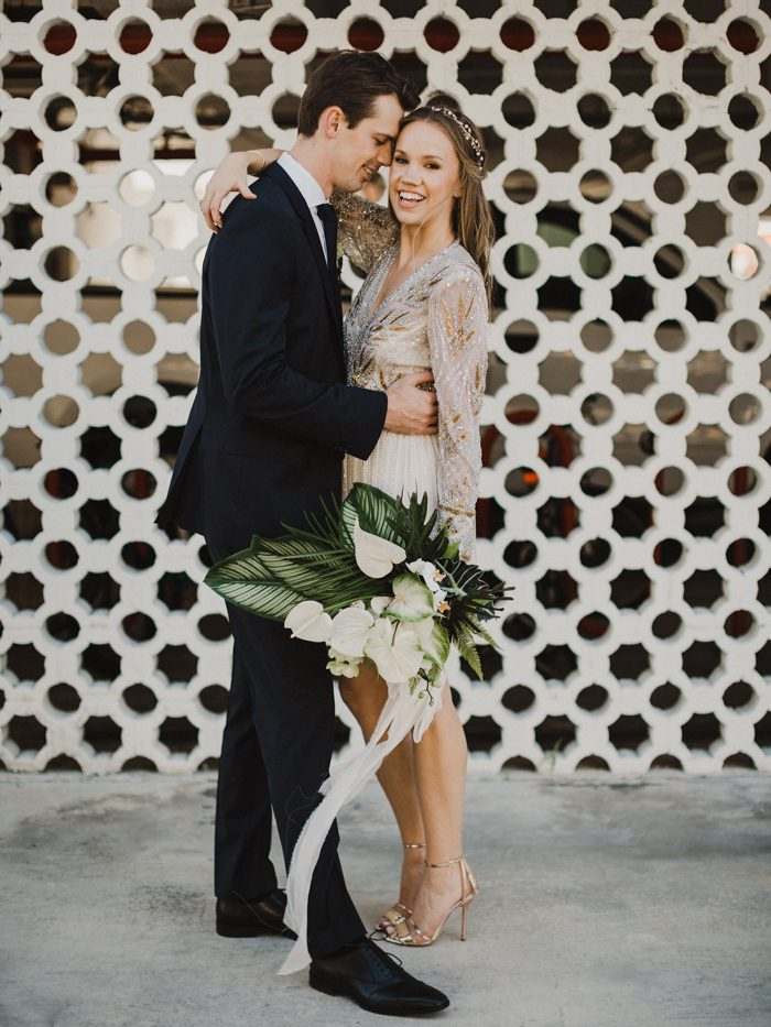 This 55-Person Miami Wedding Proves That an Intimate Day Can Be Majorly Gorgeous - junebug WEDDINGS | Real Wedding | March 2018