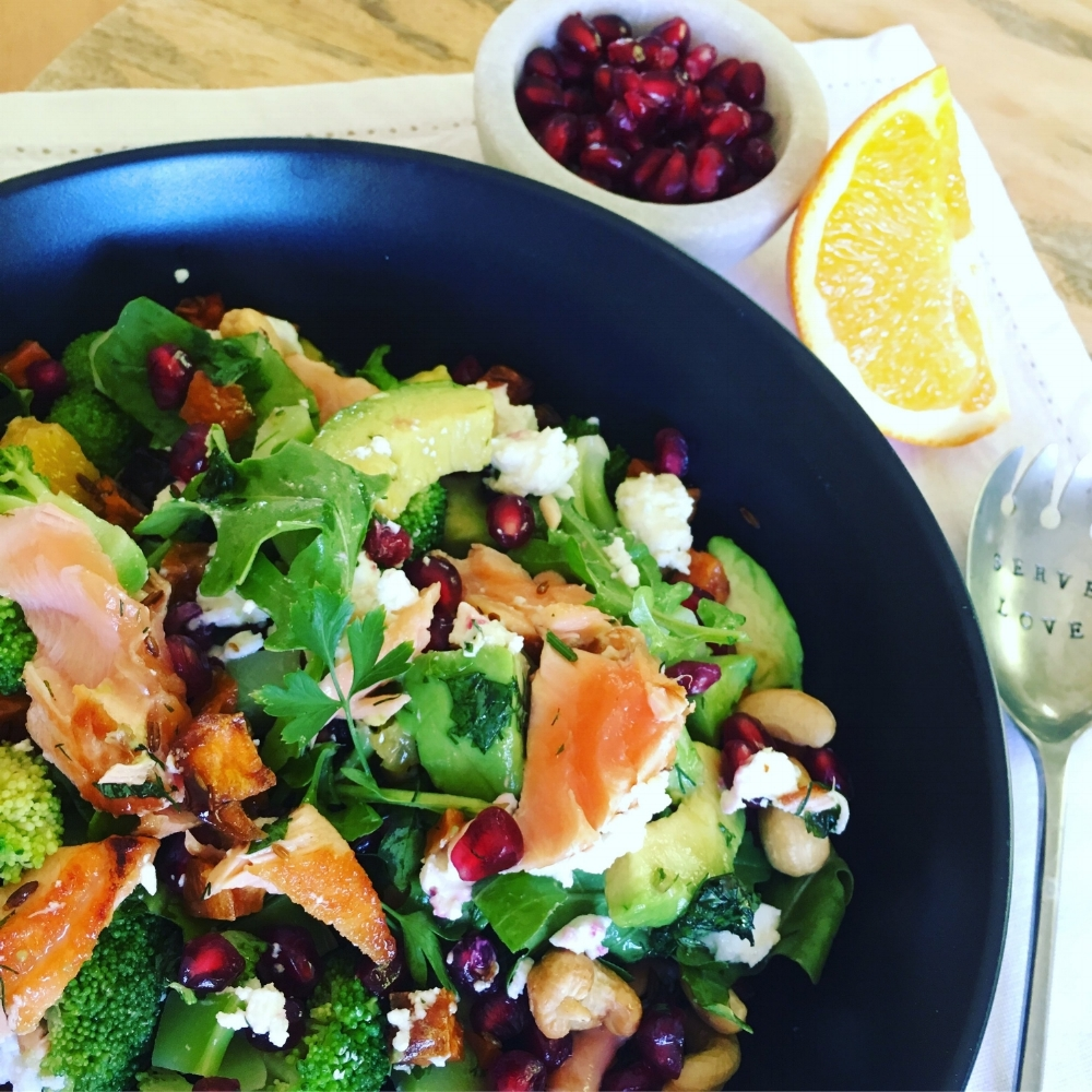 Salmon & Citrus Salad