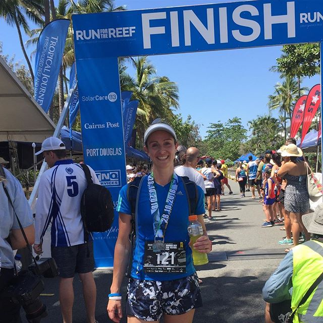 Carb load ✅ Nutrition & Hydration plan ✅ Finish race ✅ Rehydrate ✅ Refuel ✅ Recover ✅  Another marathon under my belt 🏃‍♀️🌴 ☀️ Thank you @gbrmarathon for an incredible event! This may be the most challenging thing I've ever done, and it feels pretty darn good to have survived!  #greatbarrierreefmarathon #bumptrack #marathon#marathonnutrition #endurancenutrition #endurancefuel #racefuel #recoverynutrition #sportsnutrition #sportsdietitian #carbsareyourfriend #dietitan #melbournenutritionservices