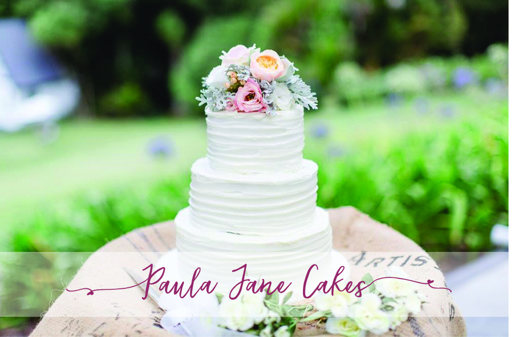 PAULA JANE CAKES 28 Sunny Crescent, Huapai 0810 P: 09 412 2994 www.paulajanecakes.co.nz