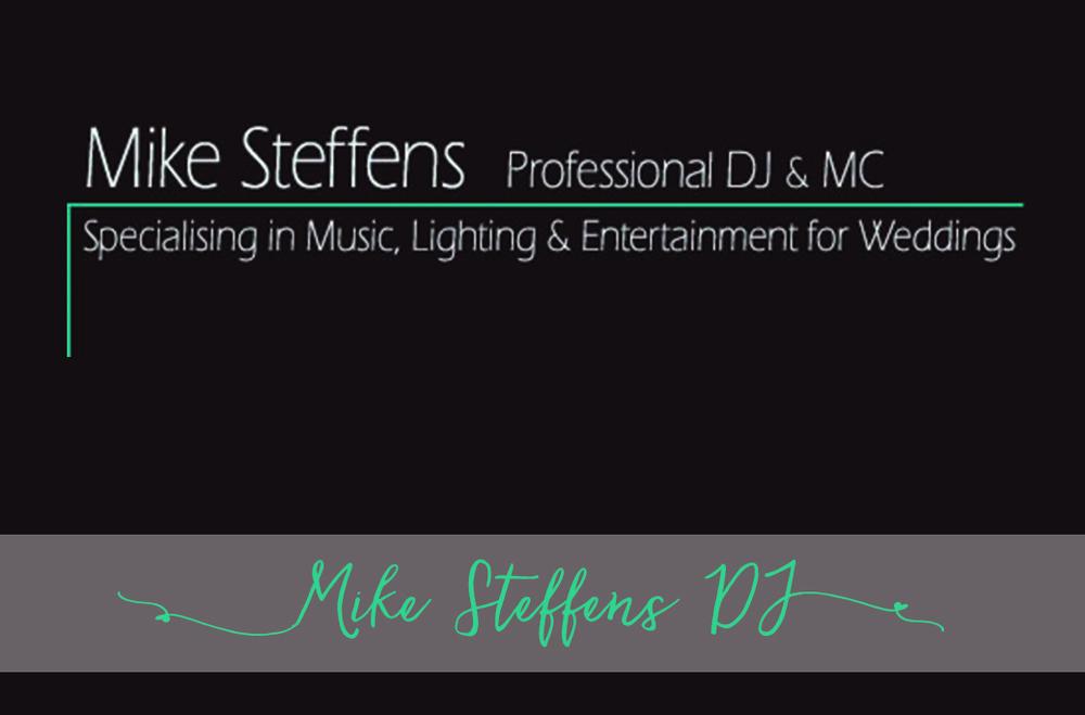 MIKE STEFFENS DJ &MC Free Phone 0800 435 645 P: 09 411 8663 www.mikesteffens-dj.co.nz