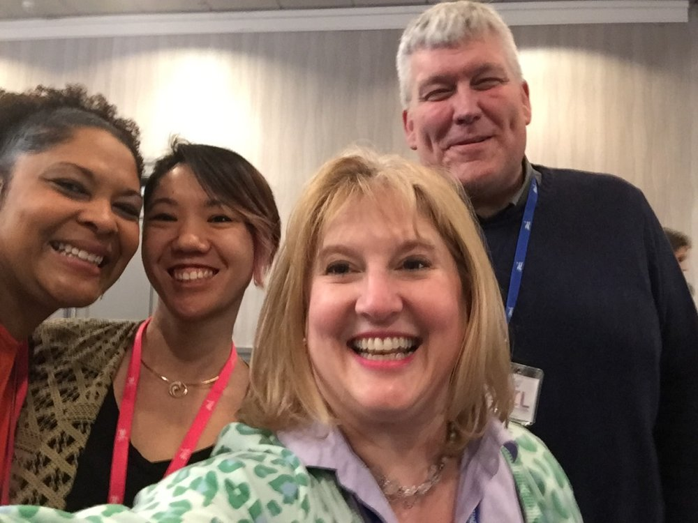 Nakita, Crystal, Kim and Jimmy at the BRIL - Business Resources in Inspiring Leaders - in Richmond, VA on March 24, 2018