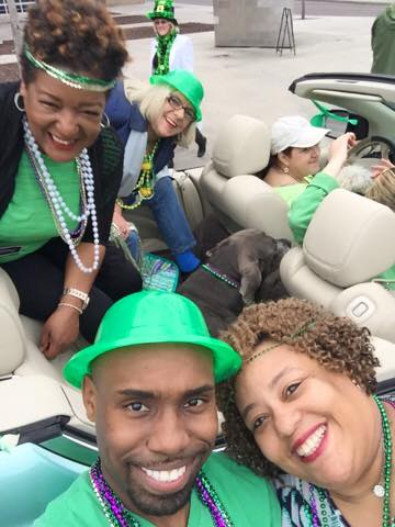 DNA participates in the 2016 silky o'sullivan's st. patrick's day parade