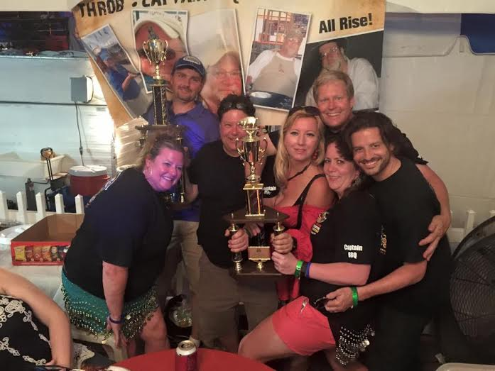 allstar tenpin porkers after their 2015 best booth victory