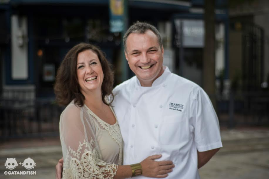 Deni & Patrick Reilly, owners of the majestic grille